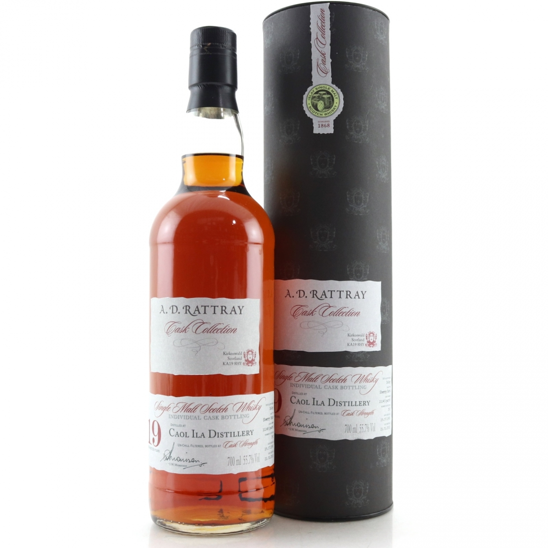 Caol Ila 1993 A.D. Rattray 19 Year Old