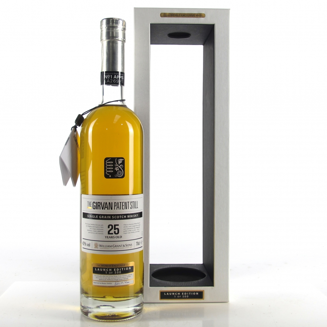 Girvan 25 Year Old Patent Still / Launch Edition