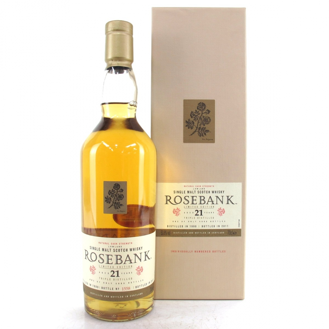 Rosebank 1990 21 Year Old
