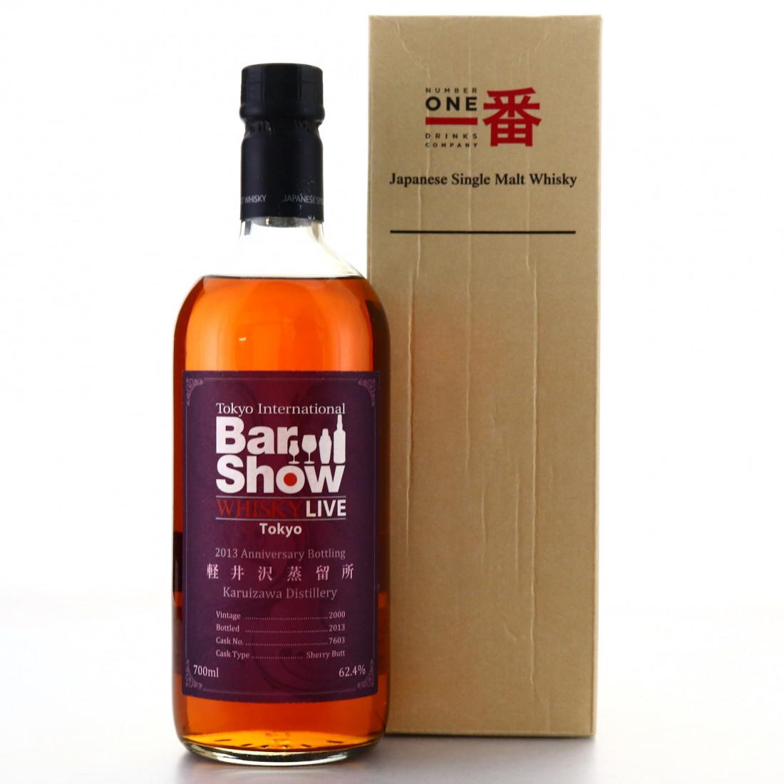 Karuizawa 2000 Single Sherry Cask #7603 / Tokyo Bar Show 2013