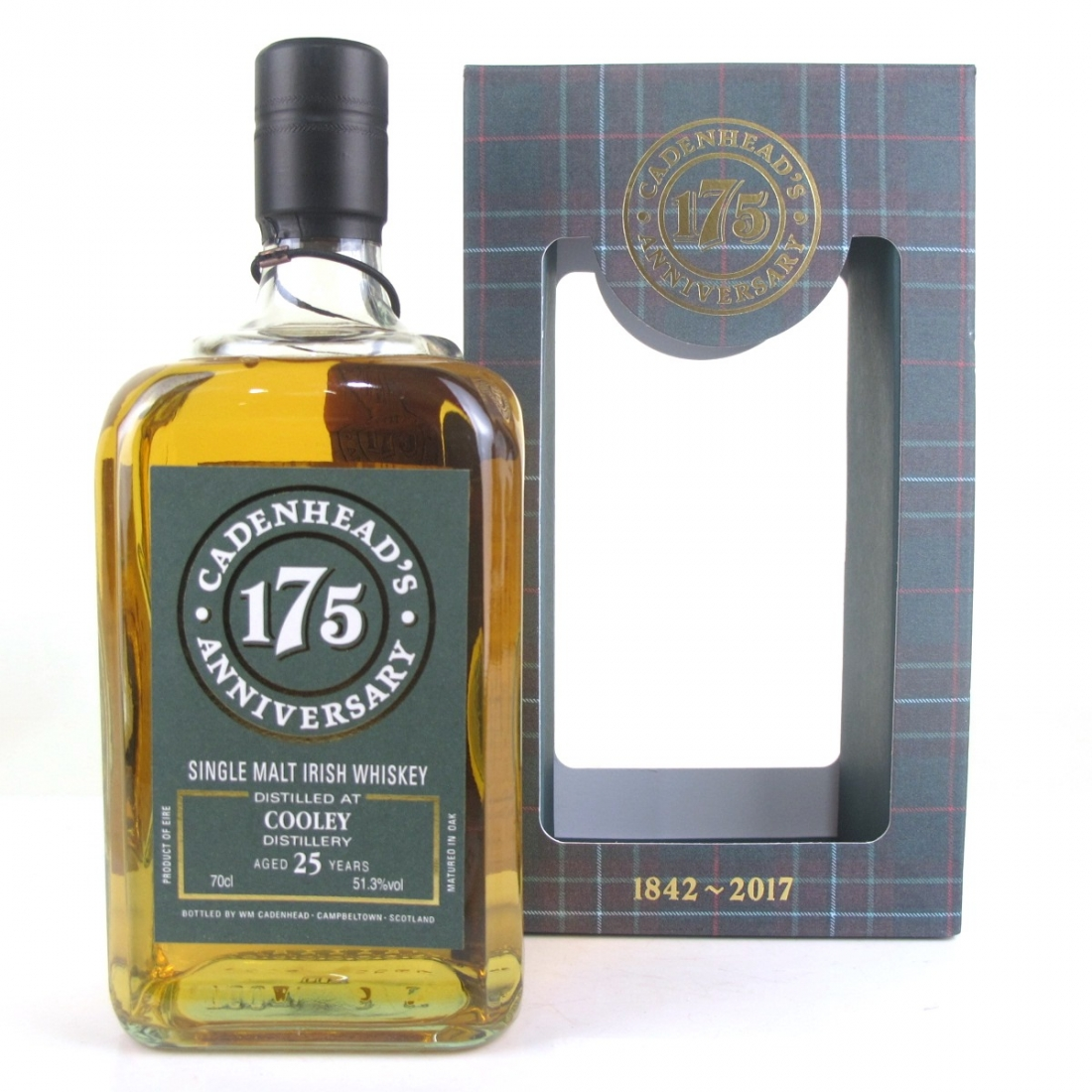 Cooley 1992 Cadenhead's 25 Year Old