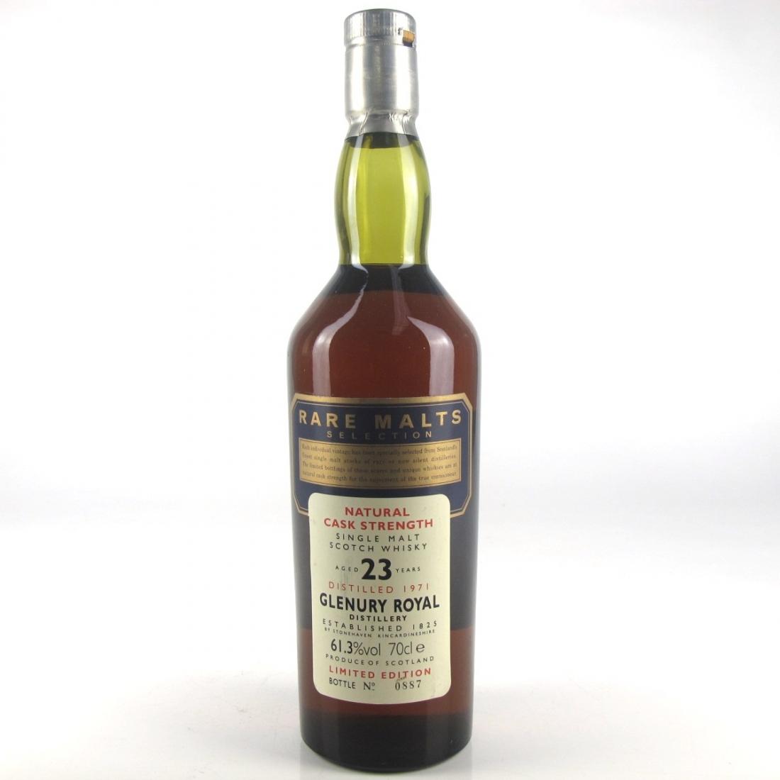 Glenury Royal 1971 Rare Malt 23 Year Old / 61.3%
