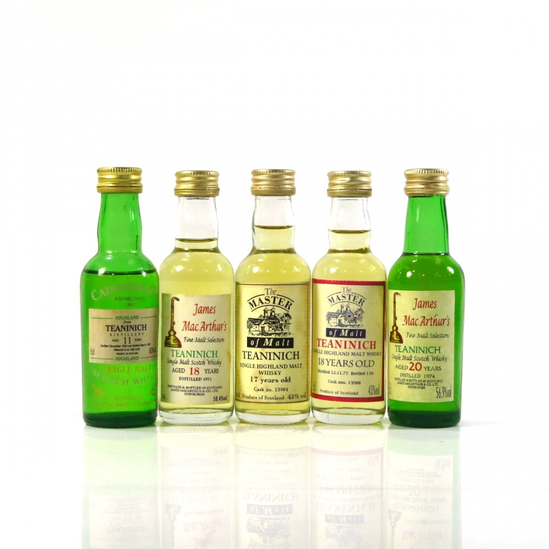 Teaninich Miniature Selection 5 x 5cl