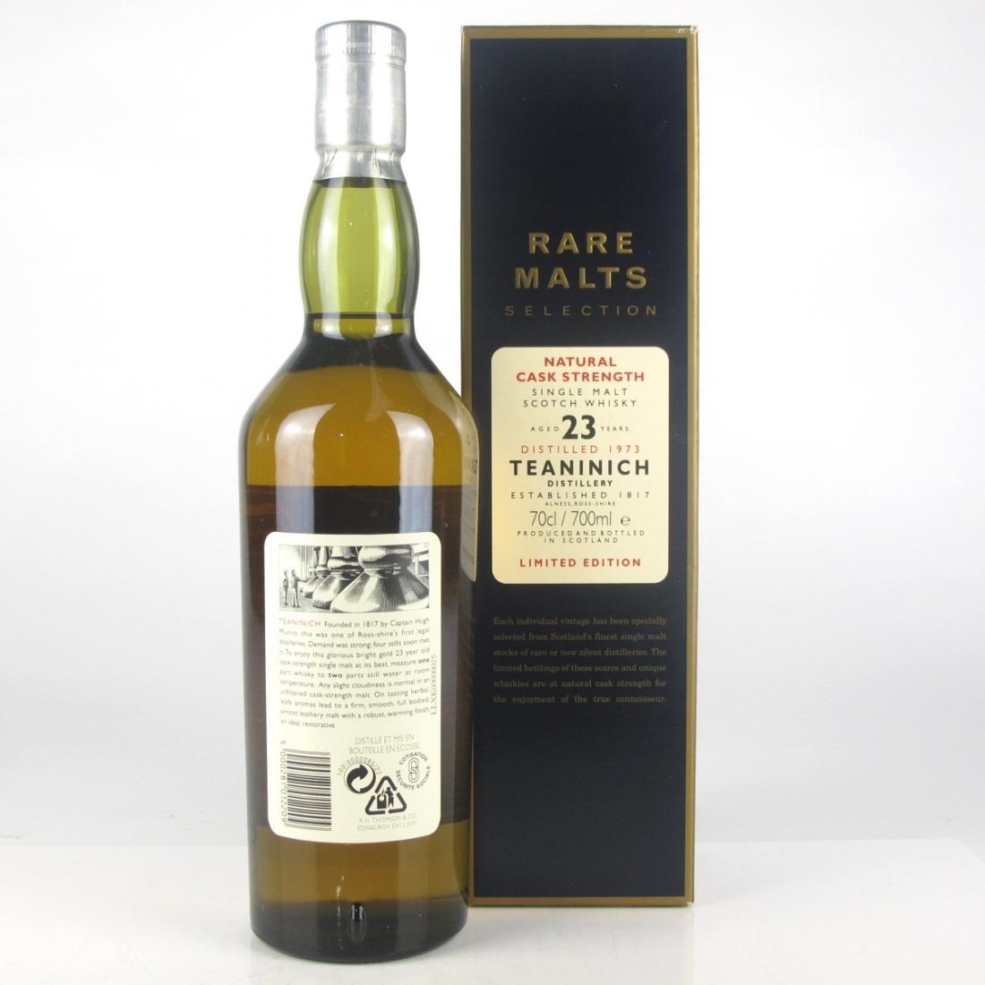 Teaninich 1973 Rare Malt 23 Year Old / 57.1%