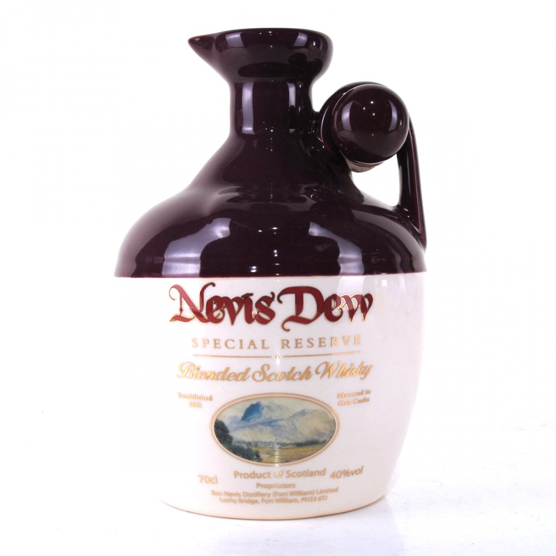 Nevis Dew Scotch Whisky Decanter