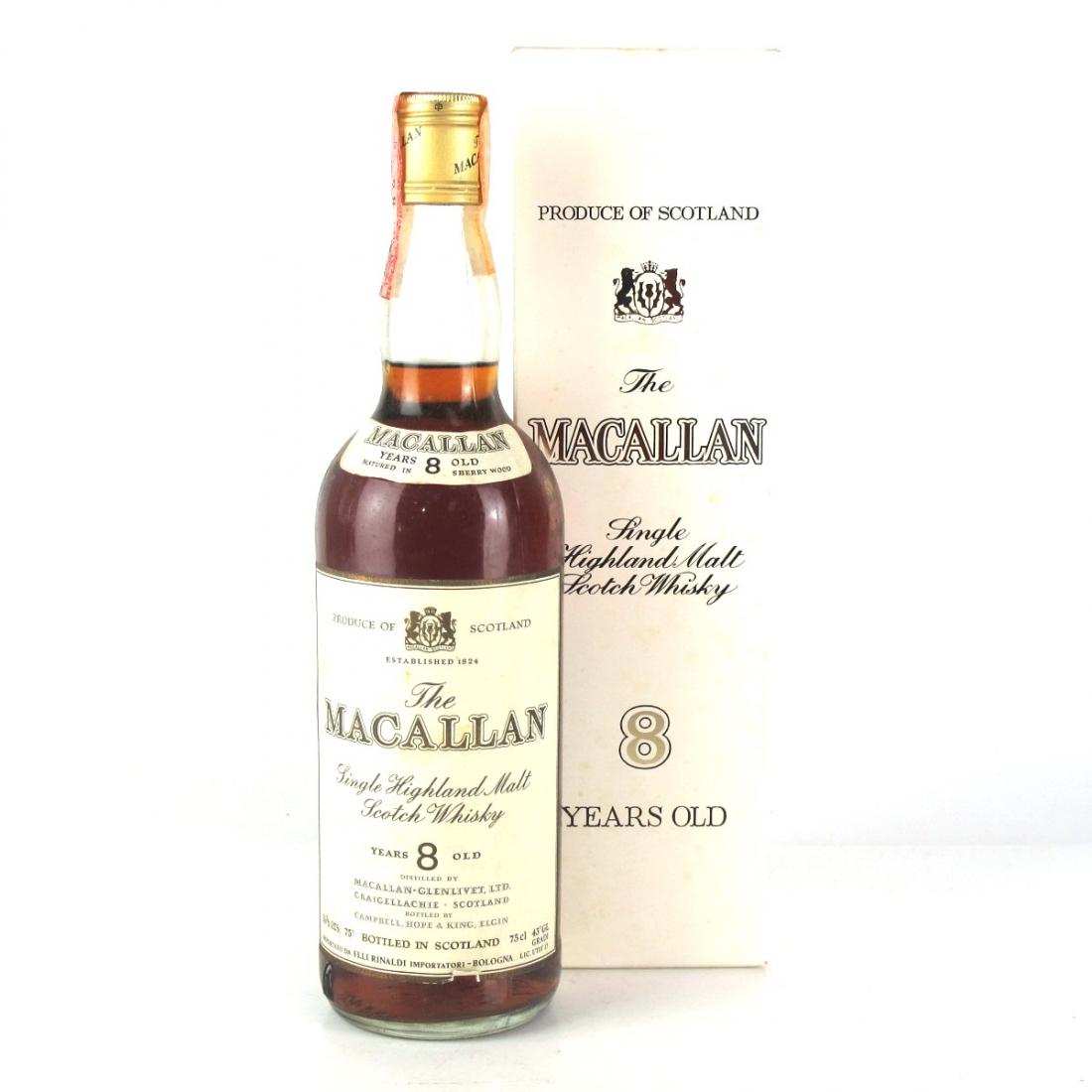 Macallan 8 Year Old 1970s / Rinaldi Import
