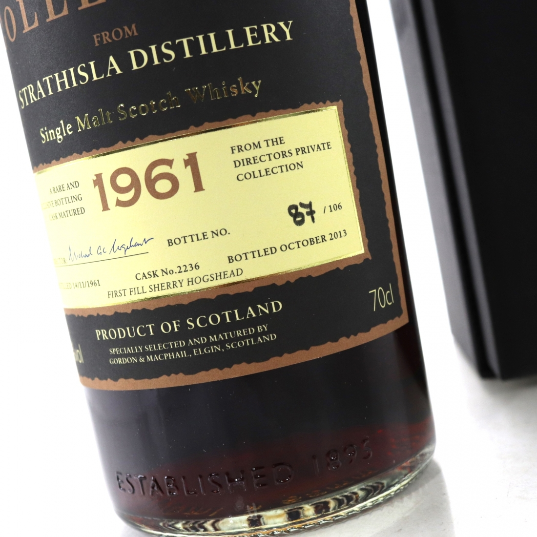 Strathisla 1961 Gordon and MacPhail Private Collection