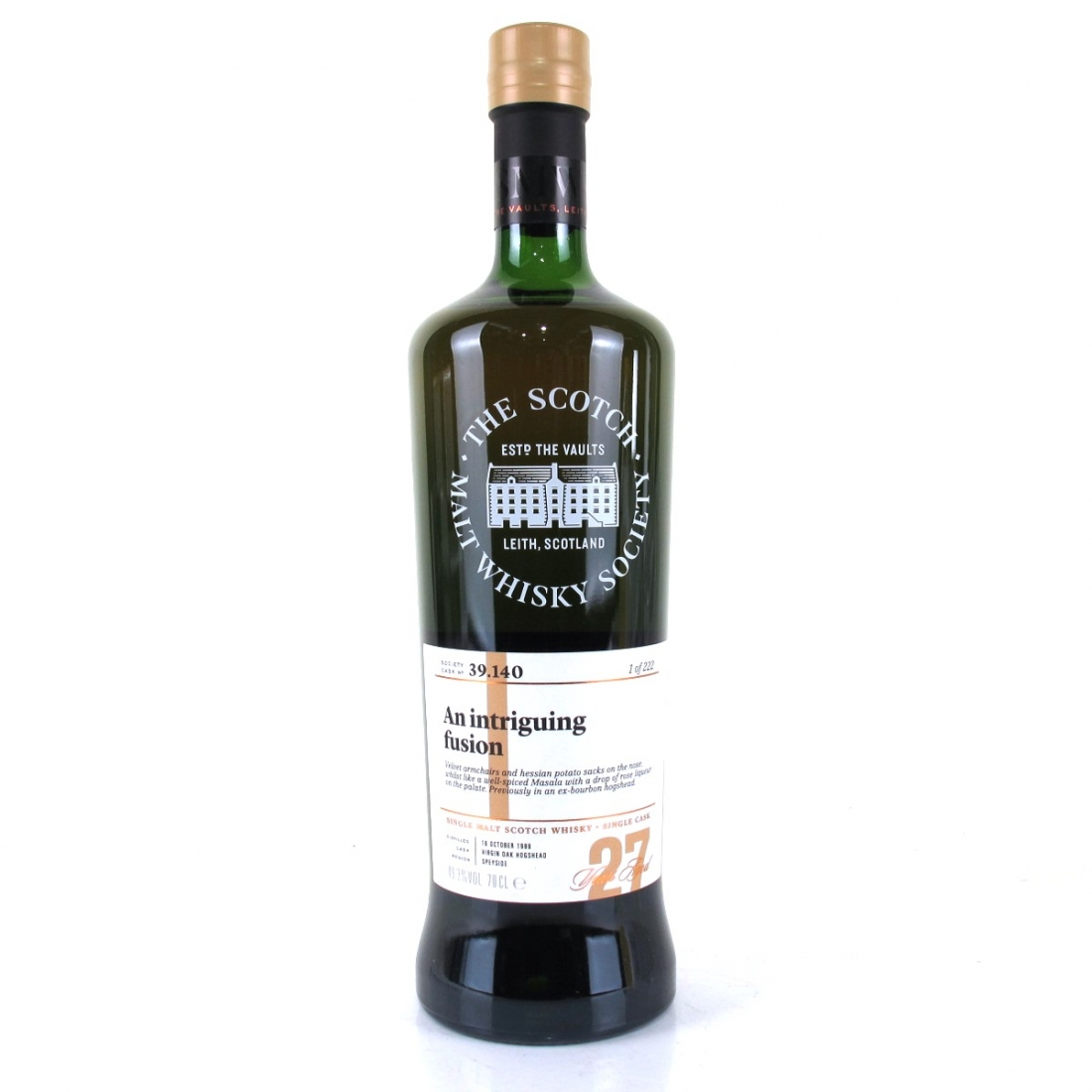 Linkwood 1989 SMWS 27 Year Old 39.140