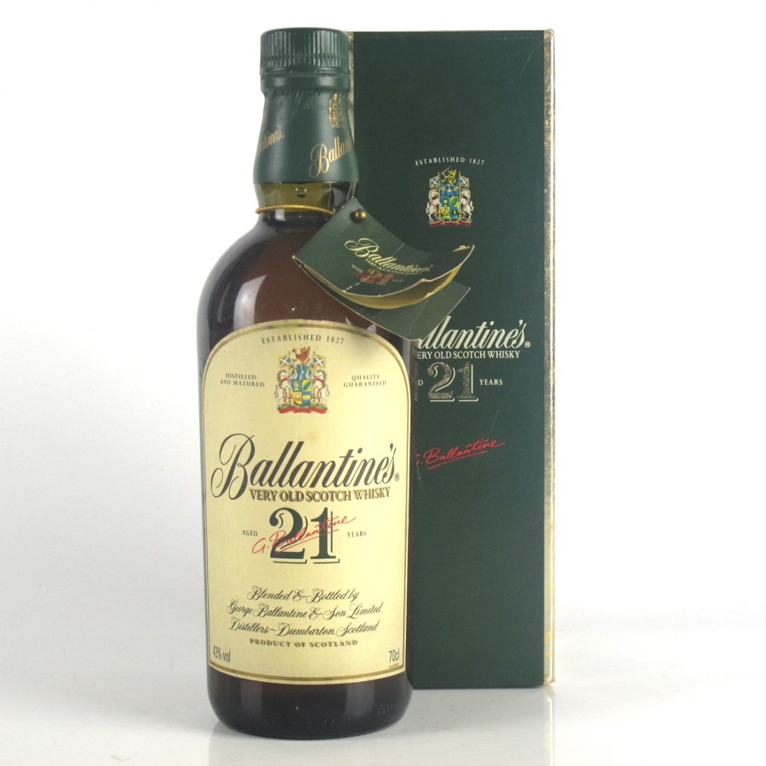 Ballantine's Very Old 21 Year Old