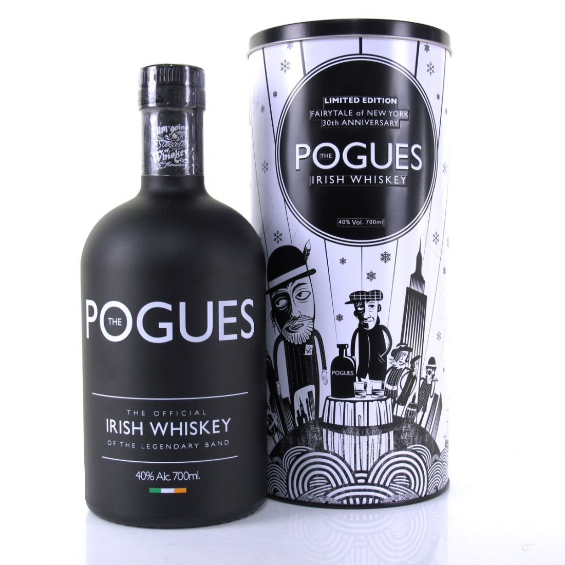 Pogues Irish Whiskey / Farytail of New York