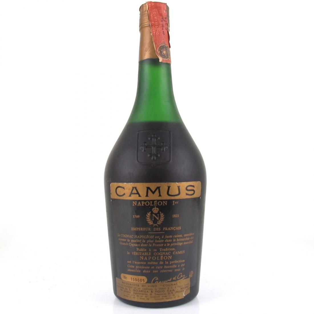 Camus Napoleon La Grande Marque Cognac 1970s
