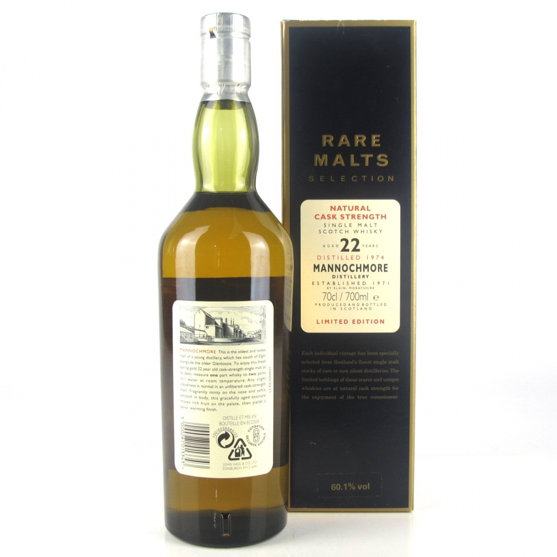 Mannochmore 1974 Rare Malt 22 Year Old / 60.1%