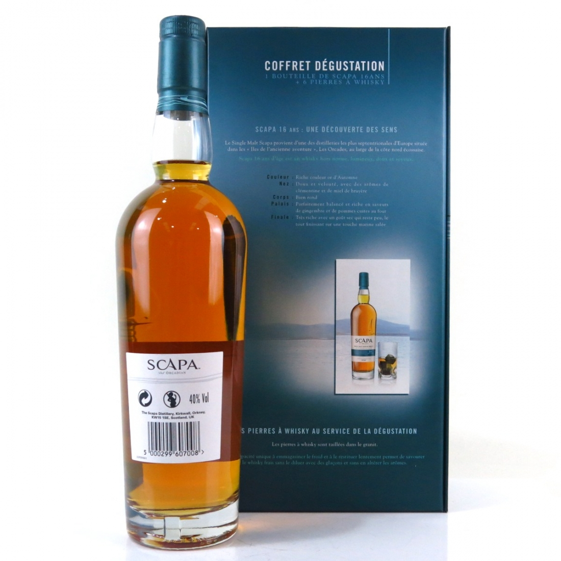 Scapa 16 Year Old / Includes 6 x Whisky Stones