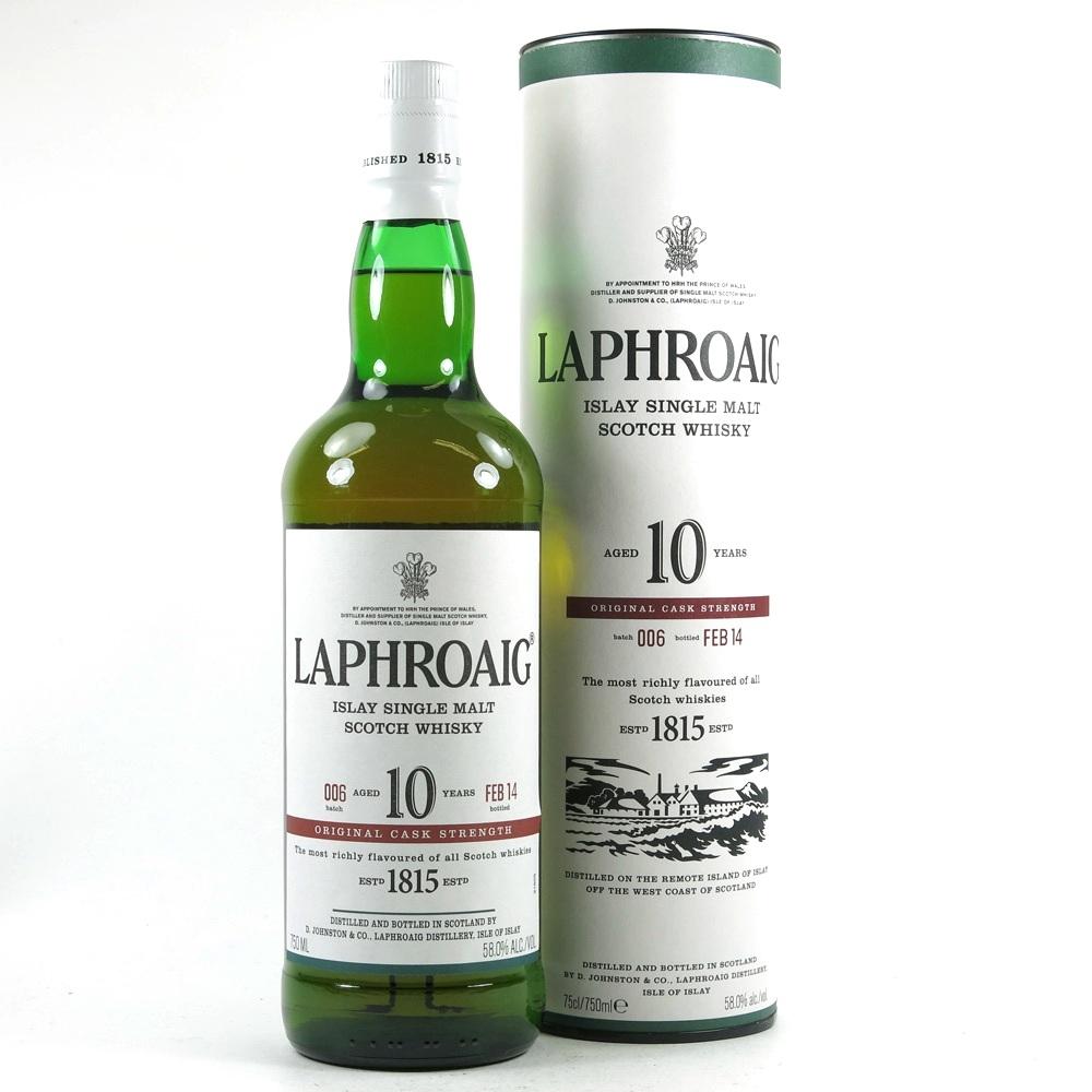 Laphroaig 10 Year Old Cask Strength Batch #06