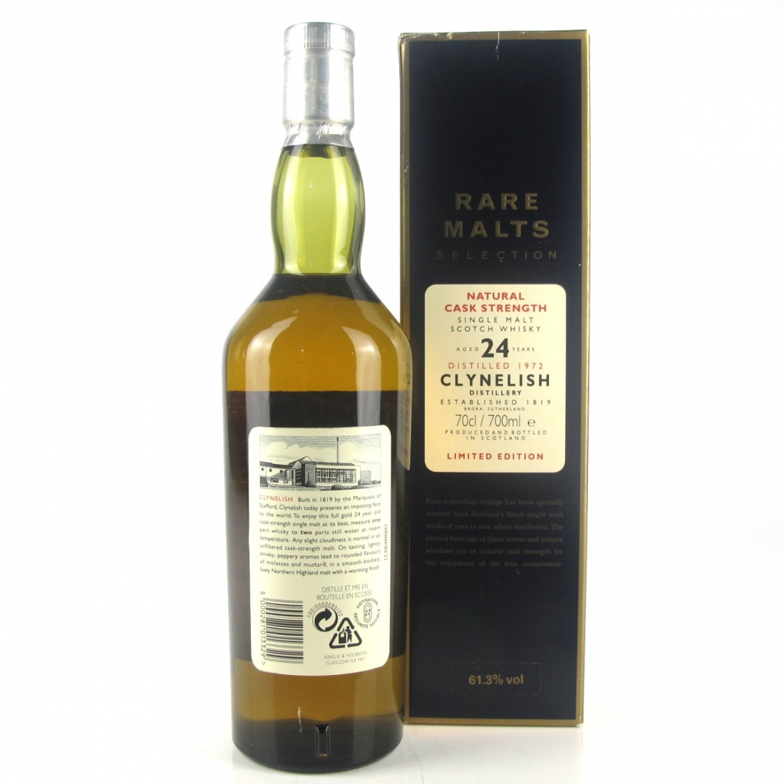 Clynelish 1972 Rare Malt 24 Year Old / 61.3%