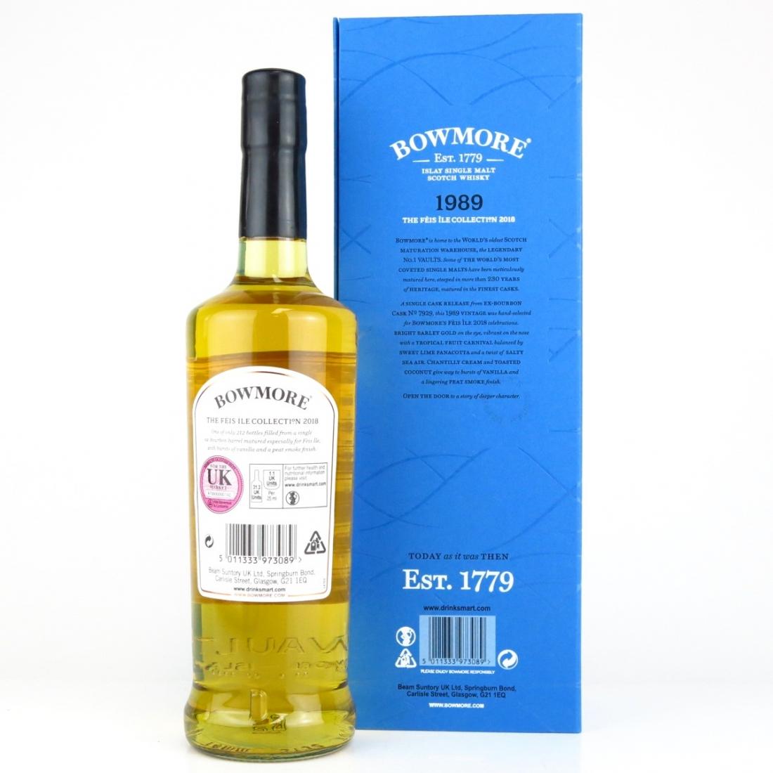 Bowmore 1989 Single Cask #7929 / Feis Ile 2018