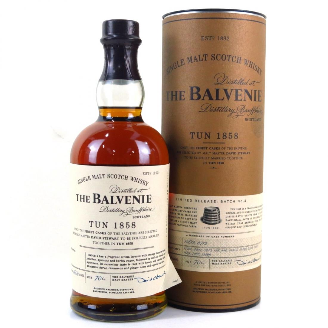 Balvenie Tun 1858 Batch #4