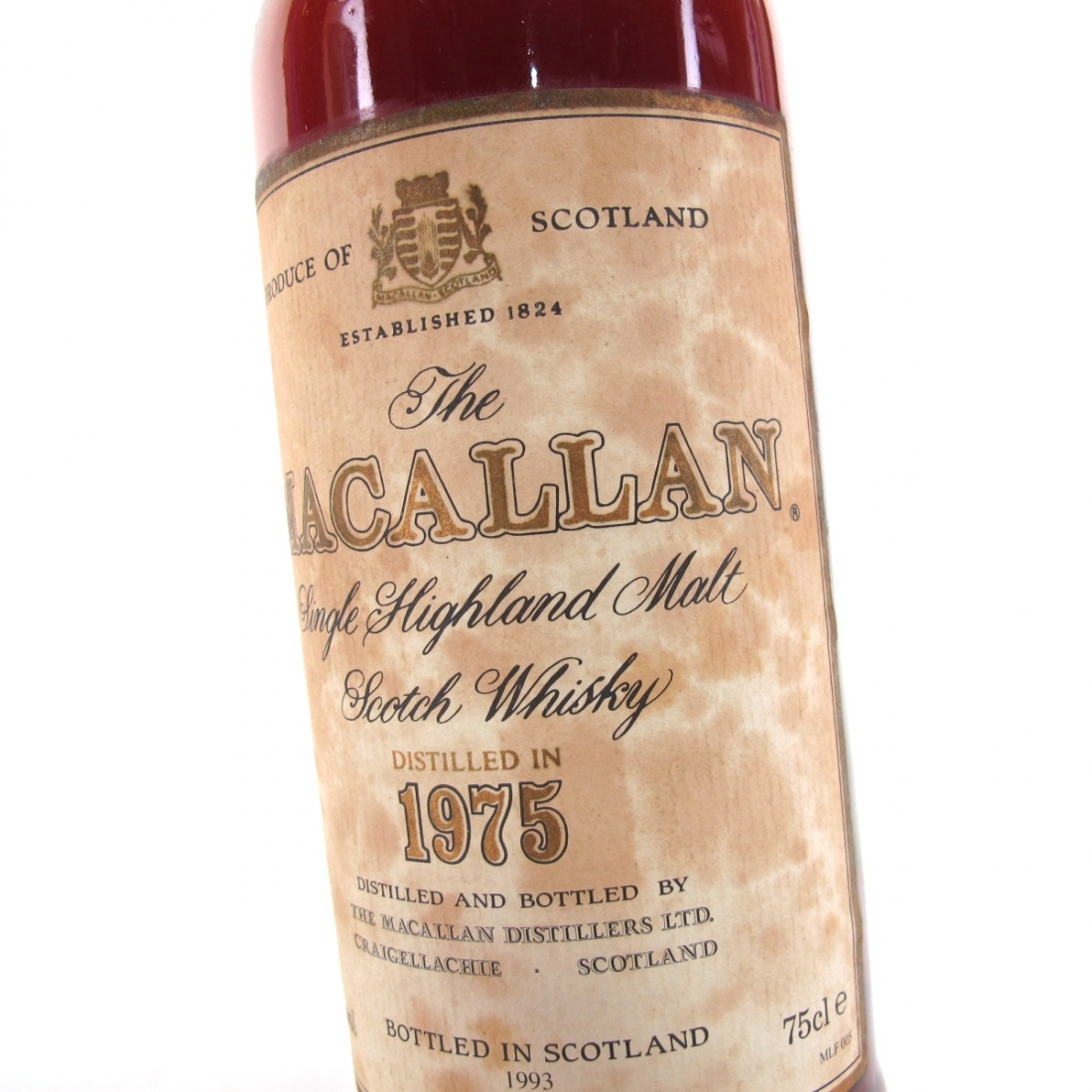 Macallan 18 Year Old 1975