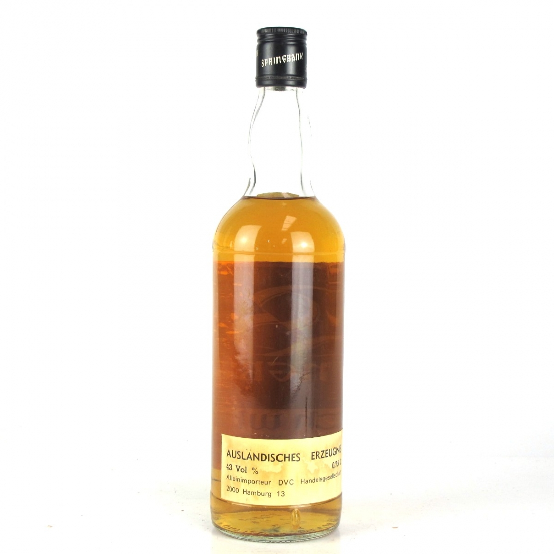Springbank 12 Year Old 1980s