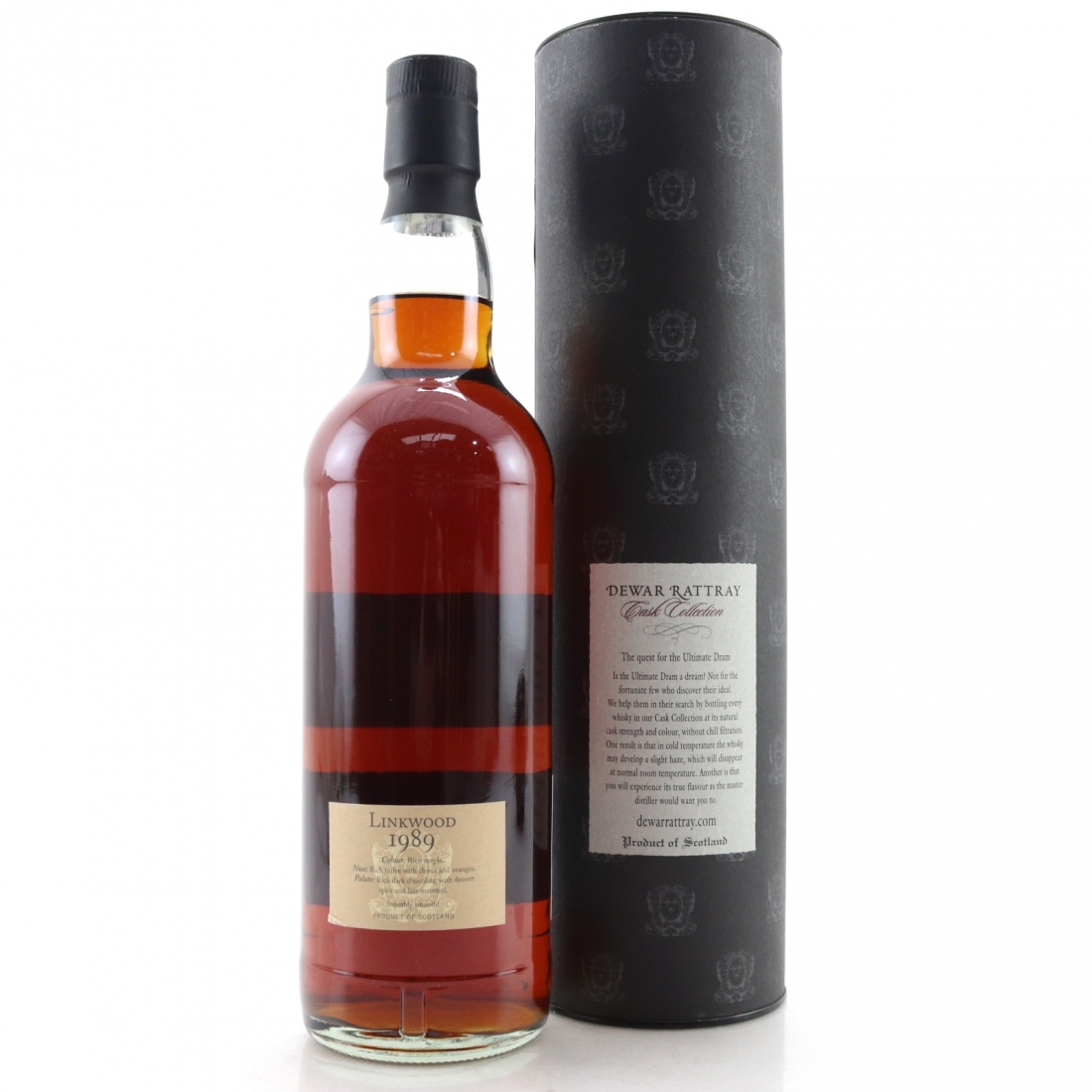 Linkwood 1989 A.D. Rattray 18 Year Old
