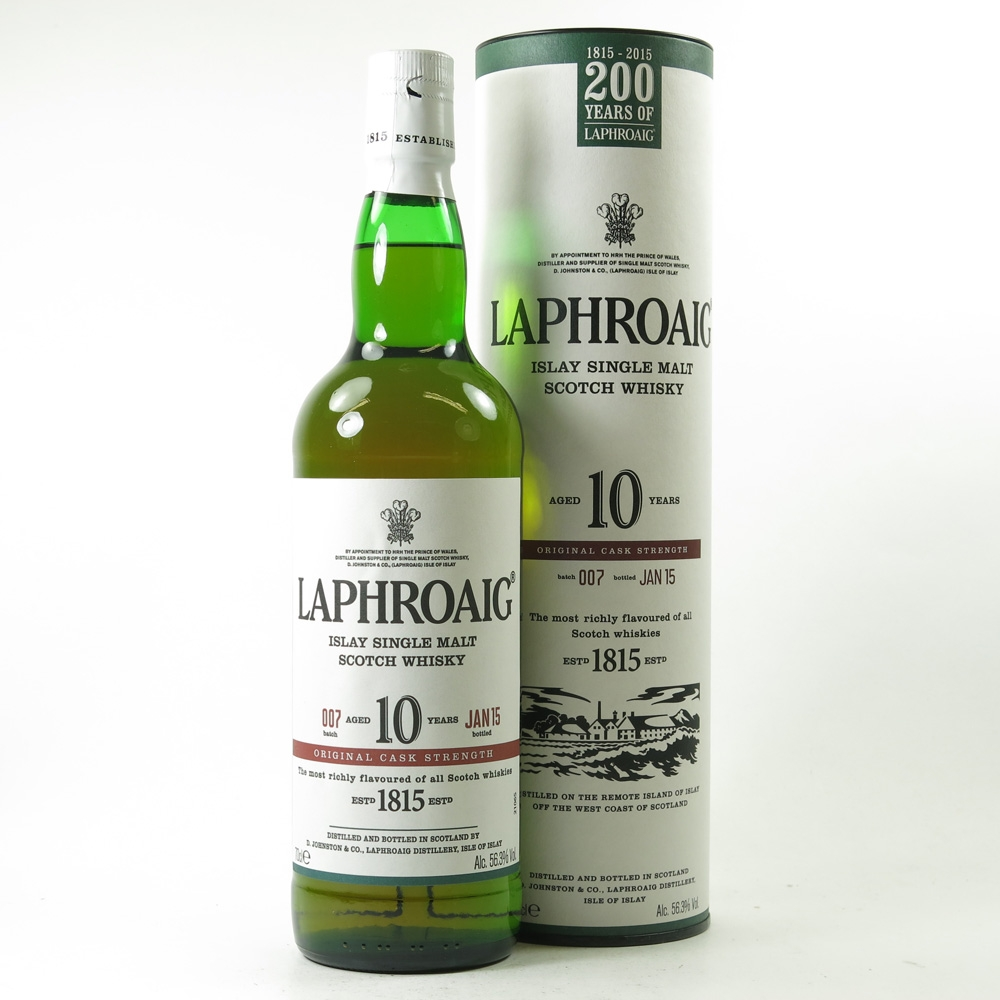 Laphroaig 10 Year Old Cask Strength Batch #07 200th Anniversary