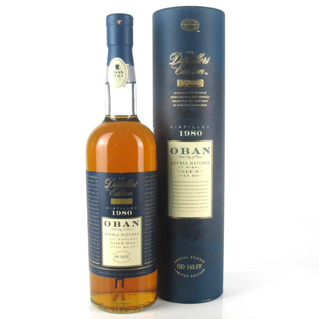 Oban 1980 Distillers Edition / First Release