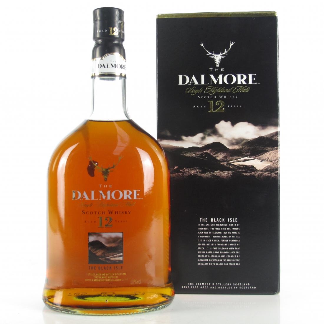Dalmore 12 Year Old Black Isle 1 Litre