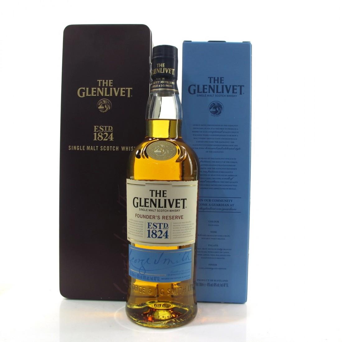 Glenlivet Founder's Reserve / Keepsake Box