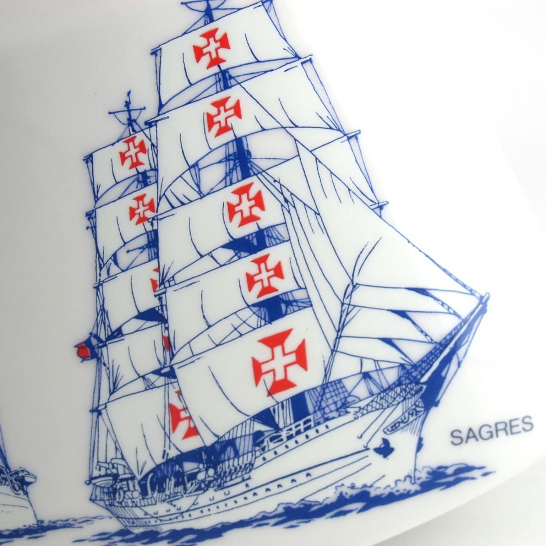 Suntory Blended Whisky Decanter / Osaka World Sail 1983