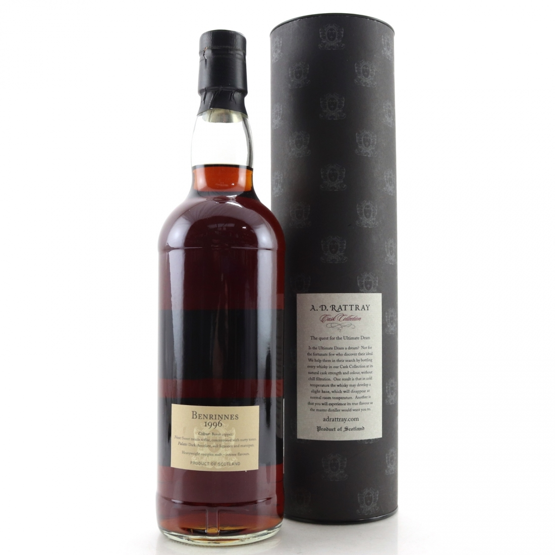 Benrinnes 1996 A.D. Rattray 13 Year Old / Alba Import, Germany