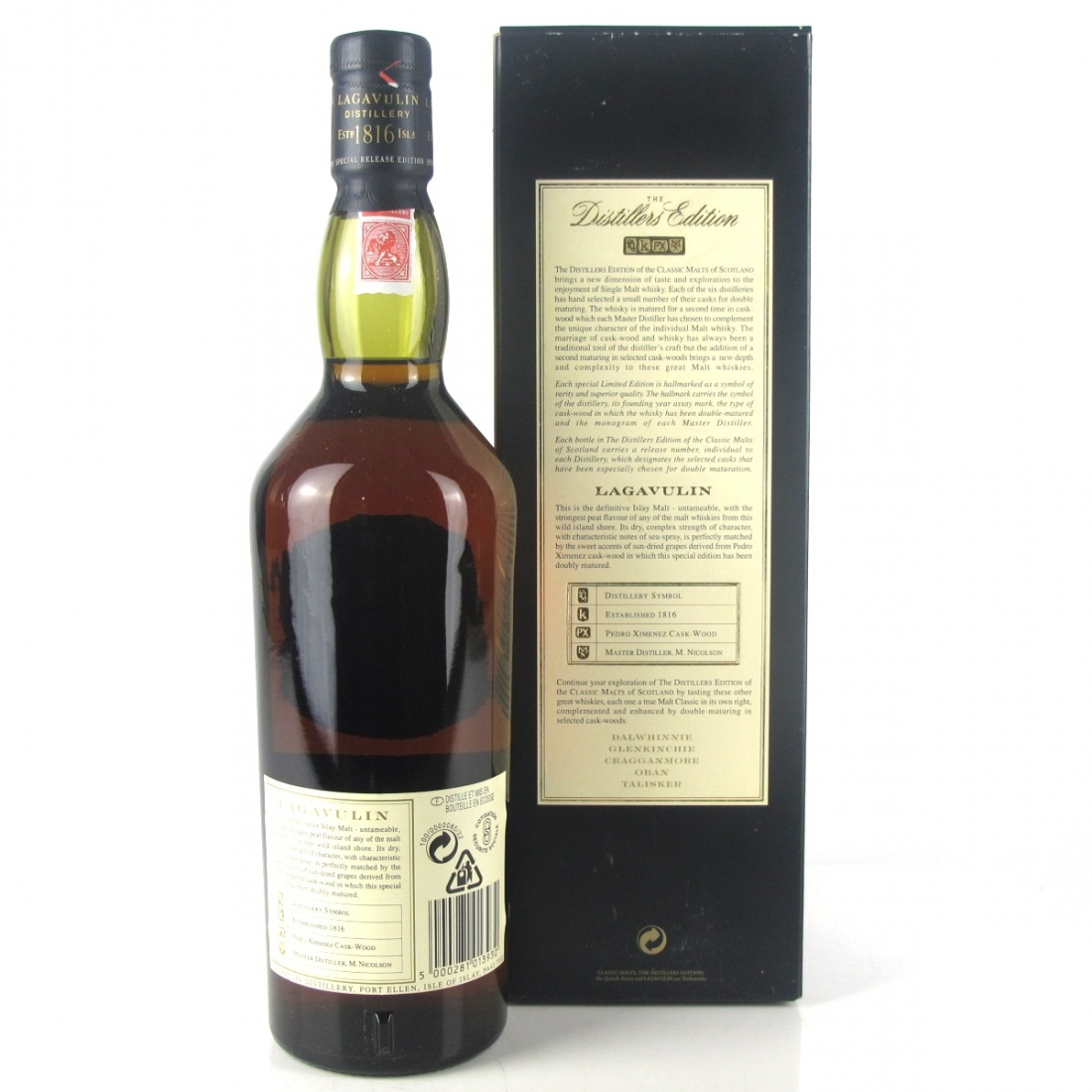 Lagavulin 1979 Distillers Edition / First Release