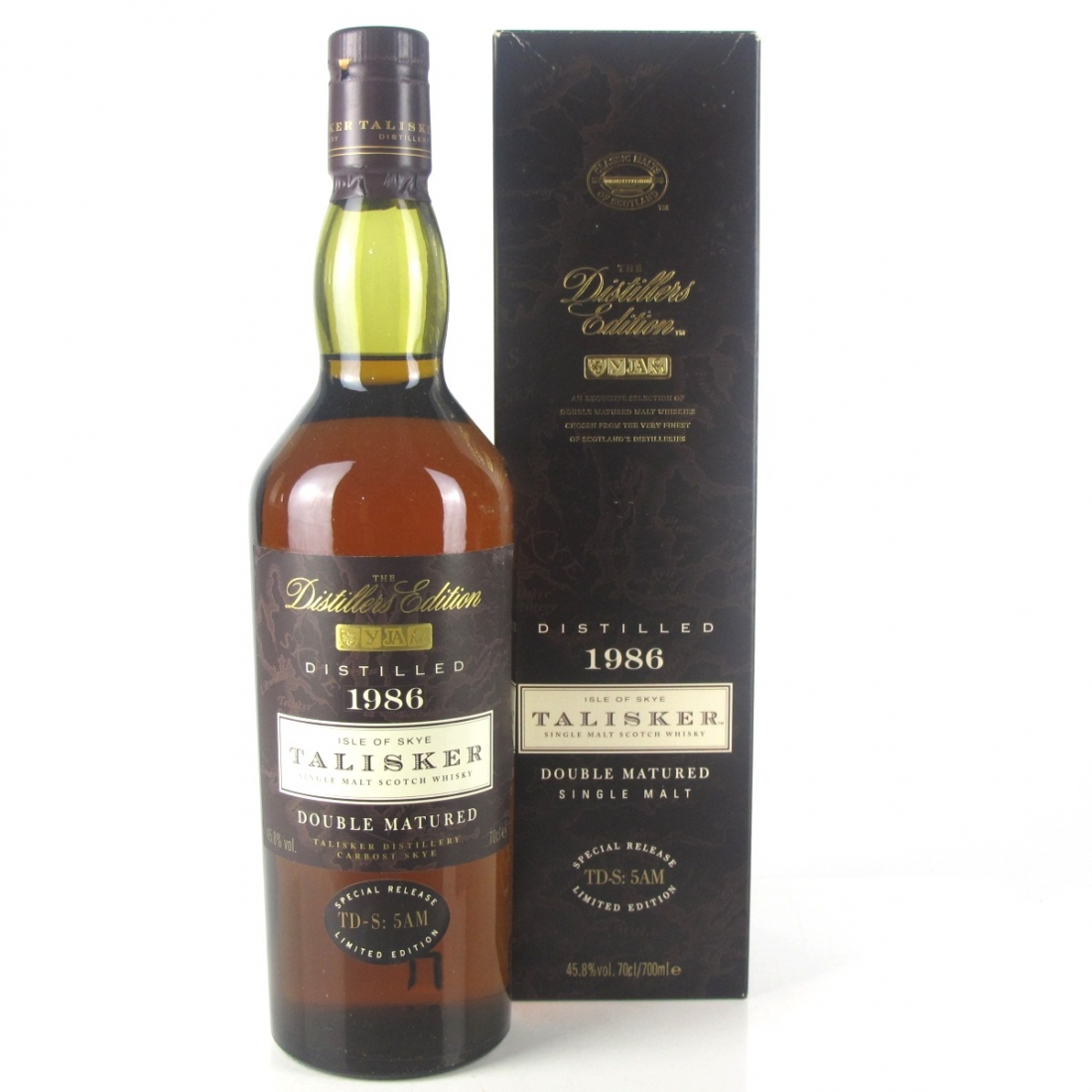 Talisker 1986 Distillers Edition 1 Litre / First Release