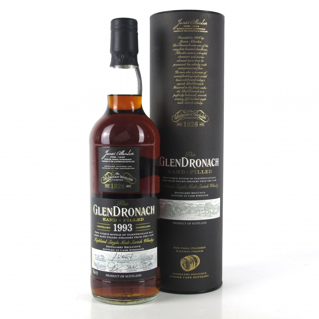 Glendronach 1993 Hand Filled 21 Year Old Single Cask