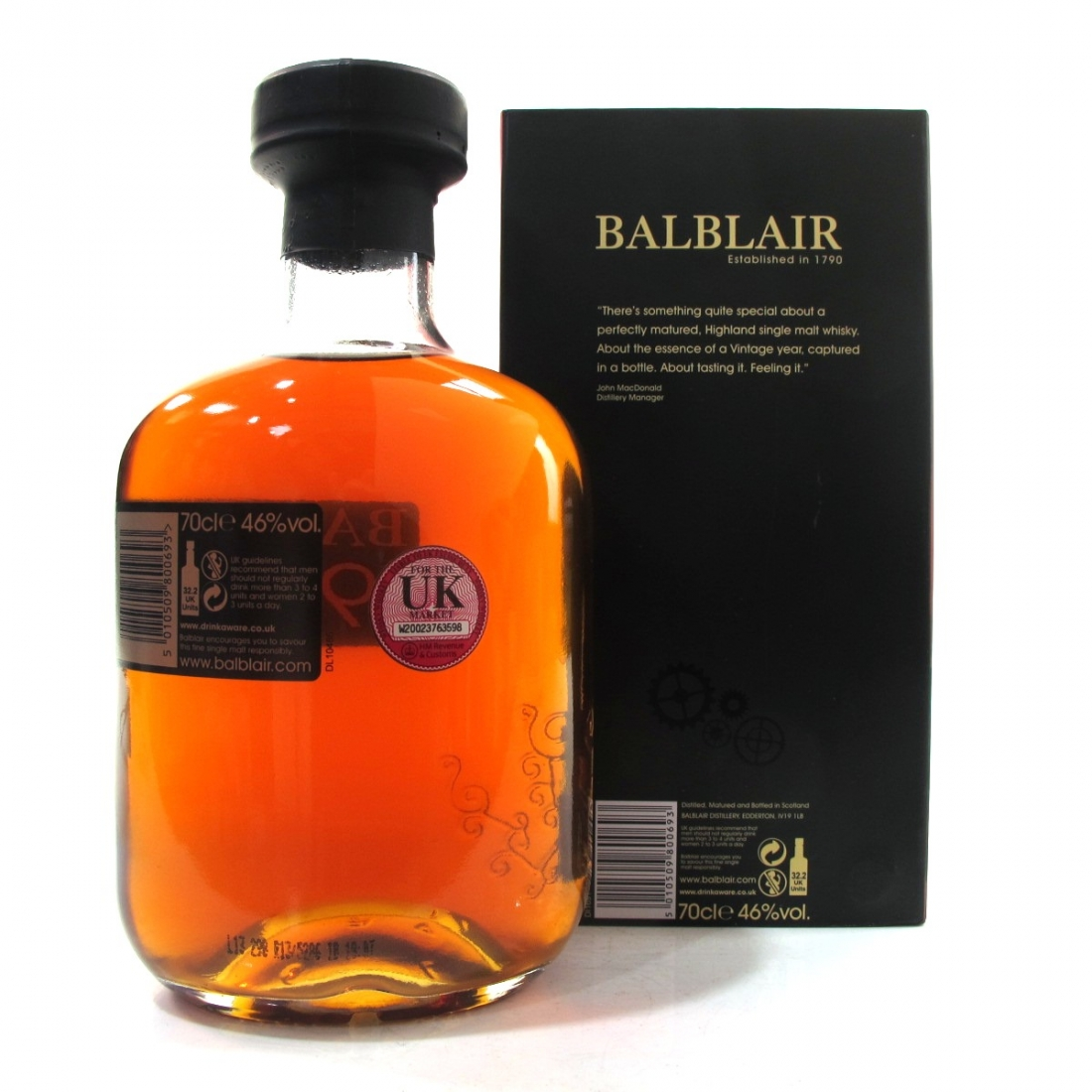 Balblair 1990 2nd Release 2013