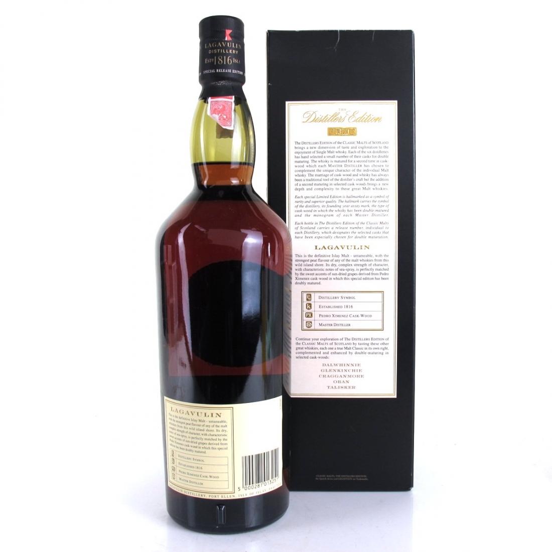 Lagavulin 1989 Distillers Edition 1 Litre