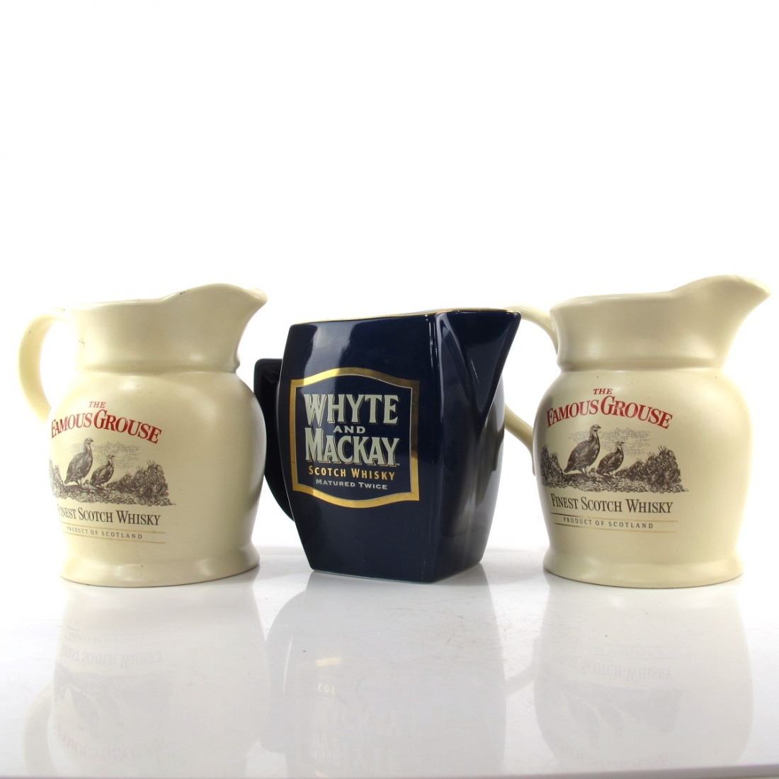 Miscellaneous Whisky Jugs x 3