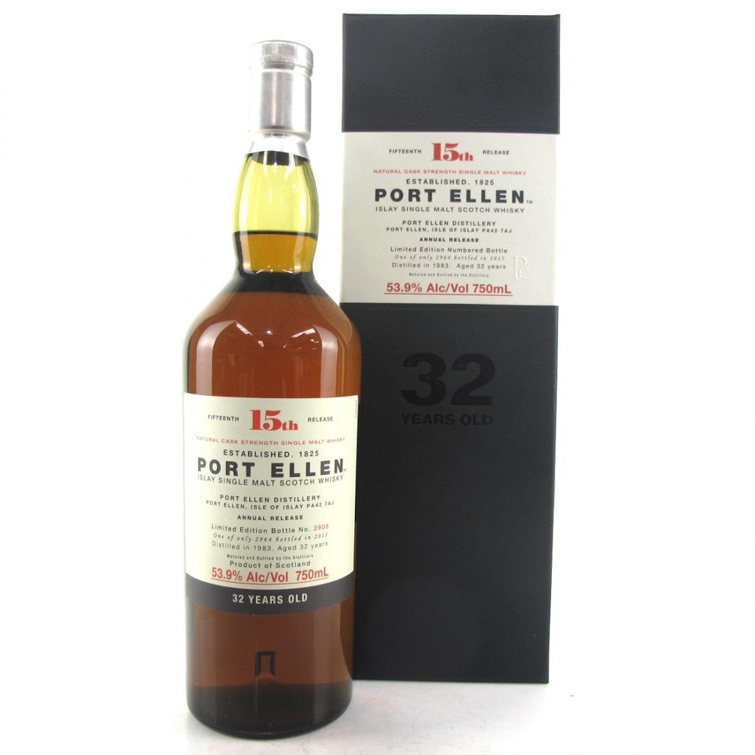 Port Ellen 1983 32 Year Old 15th Release 75cl / US Import