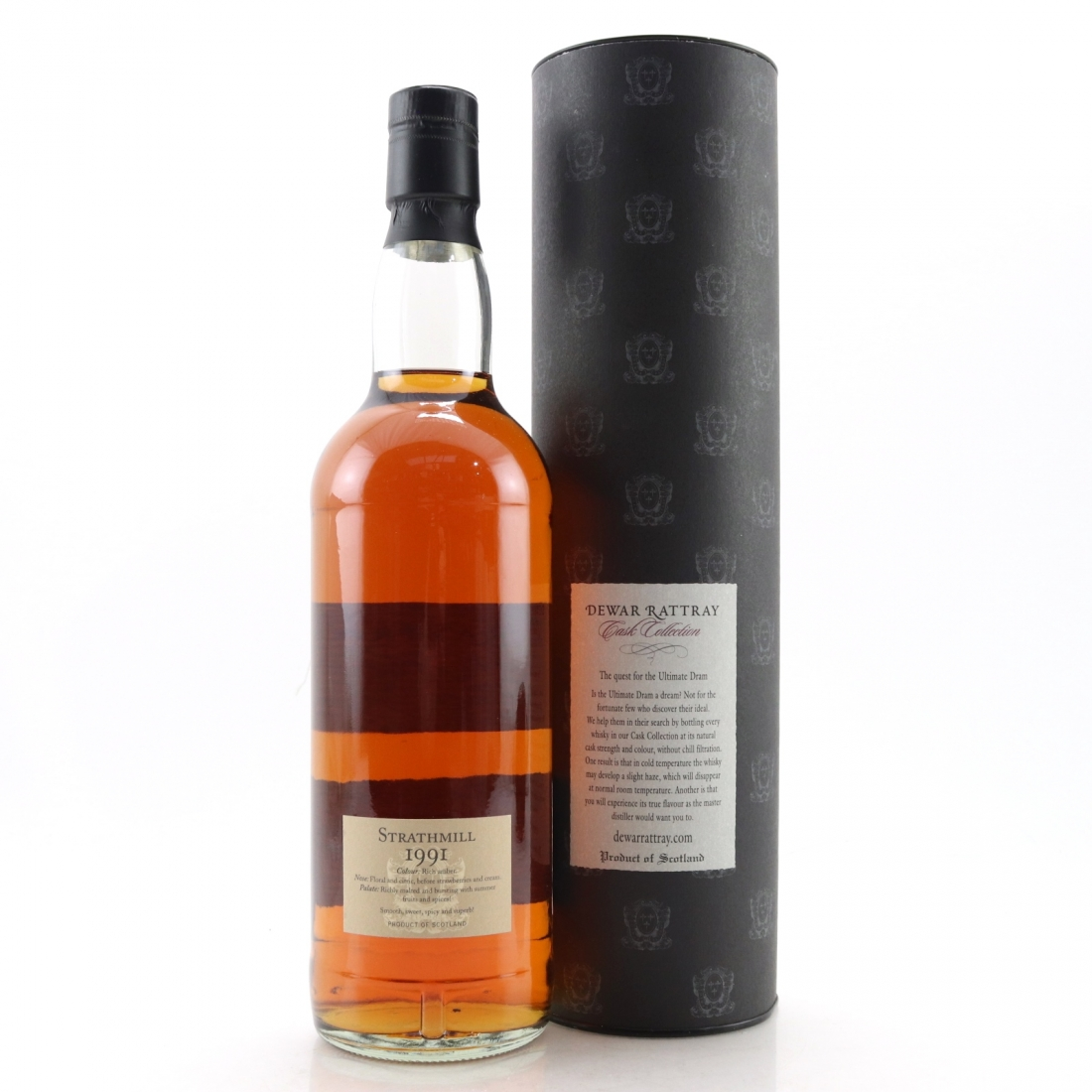 Strathmill 1991 A.D. Rattray 17 Year Old
