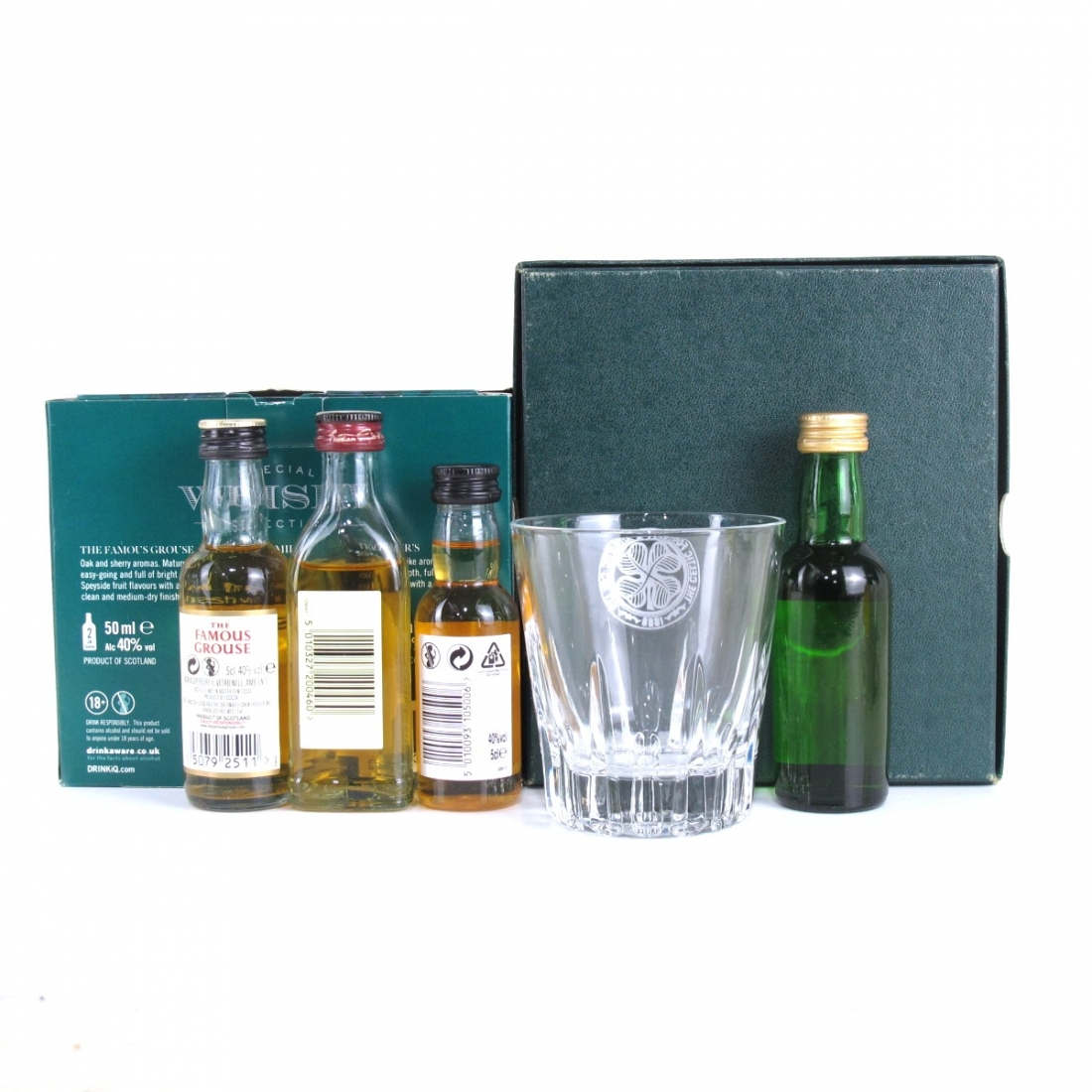 Special Whisky Selection 4 x 5cl / Including Glass