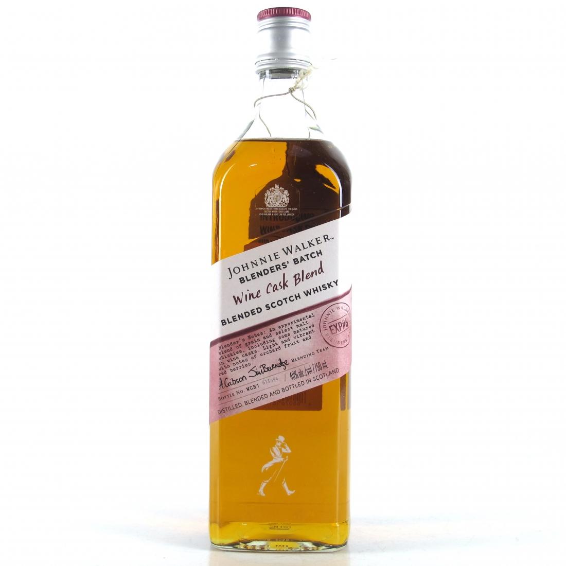 Johnnie Walker Blenders' Batch Wine Cask Blend 75cl / Exp#6 US Import