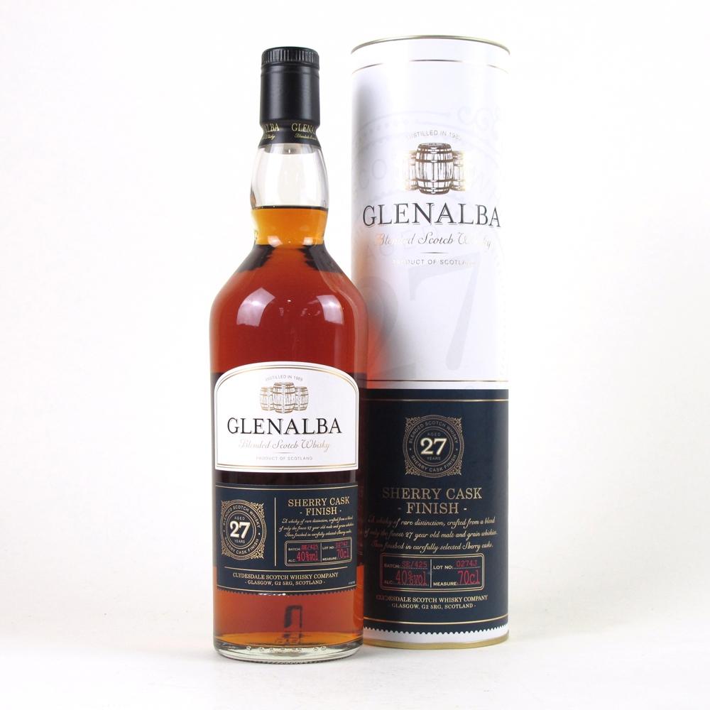 Glenalba 27 Year Old Sherry Cask Finish