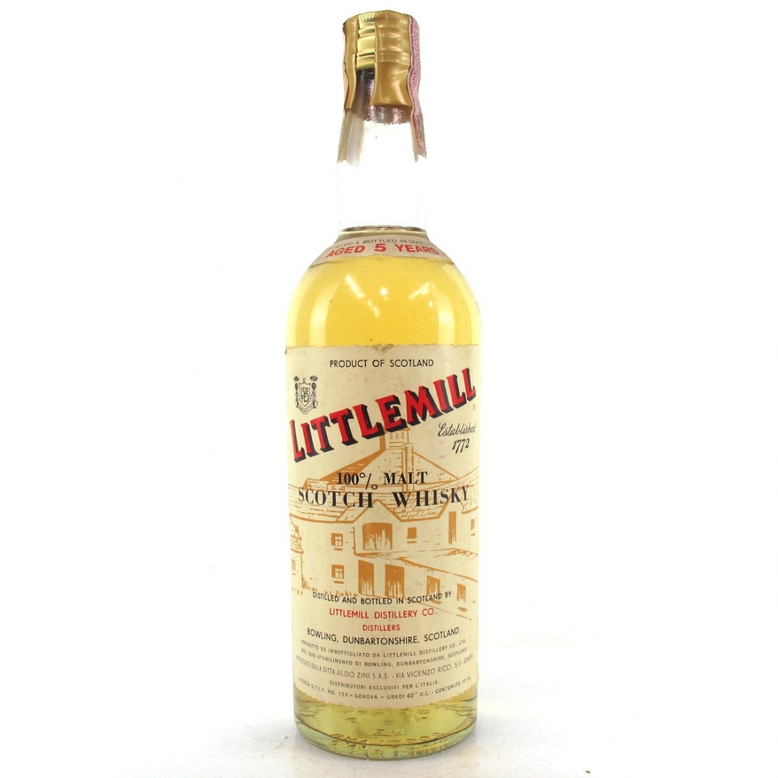 Littlemill 5 Year Old 1960/70s