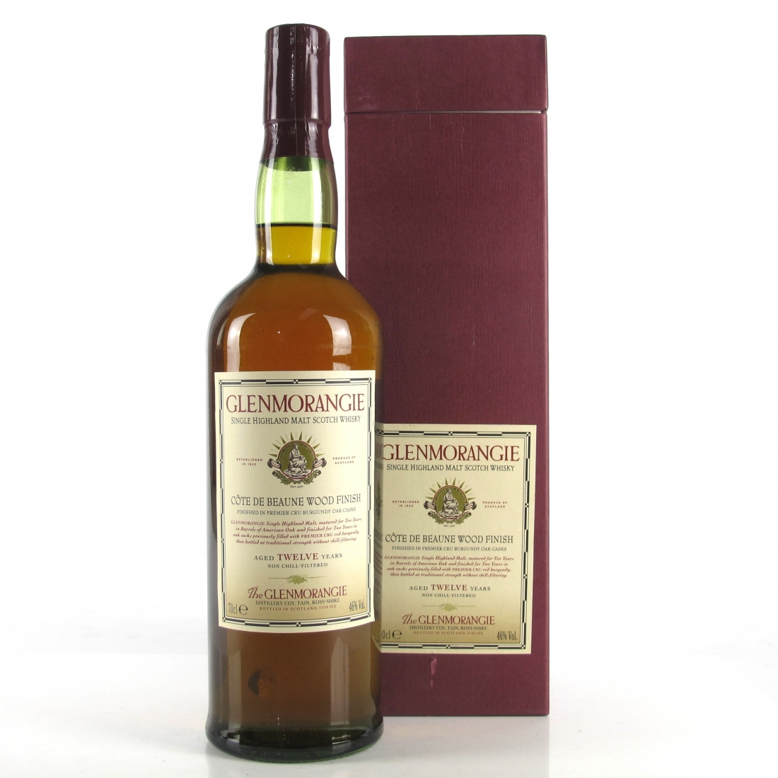 Glenmorangie 12 Year Old Cote de Beaune Finish