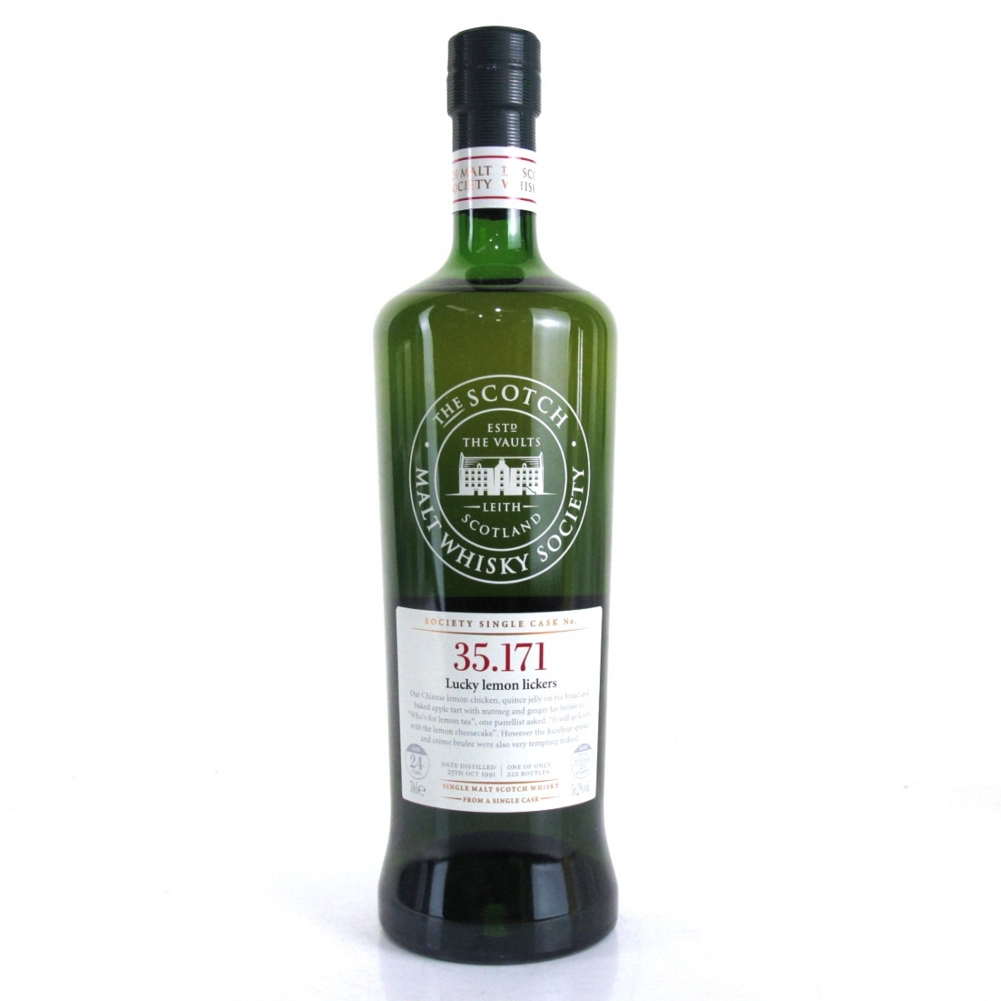 Glen Moray 1991 SMWS 24 Year Old 35.171