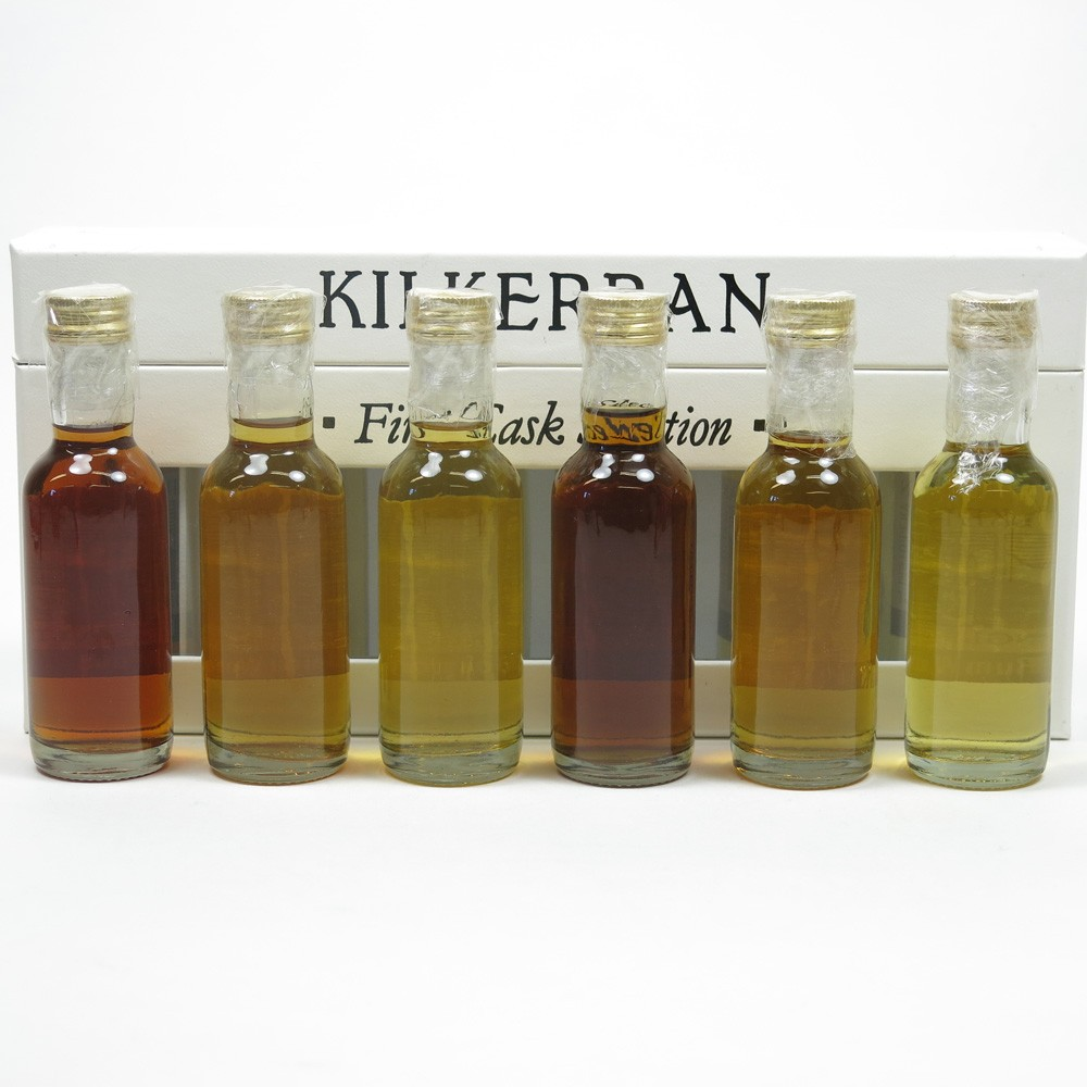 Kilkerran First Cask Selection Miniature Collection 6 x 5cl