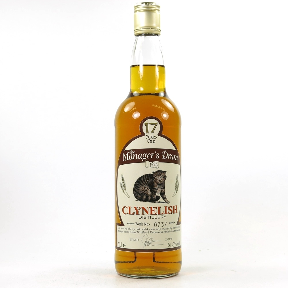 Clynelish 1998 Manager's Dram 17 Year Old