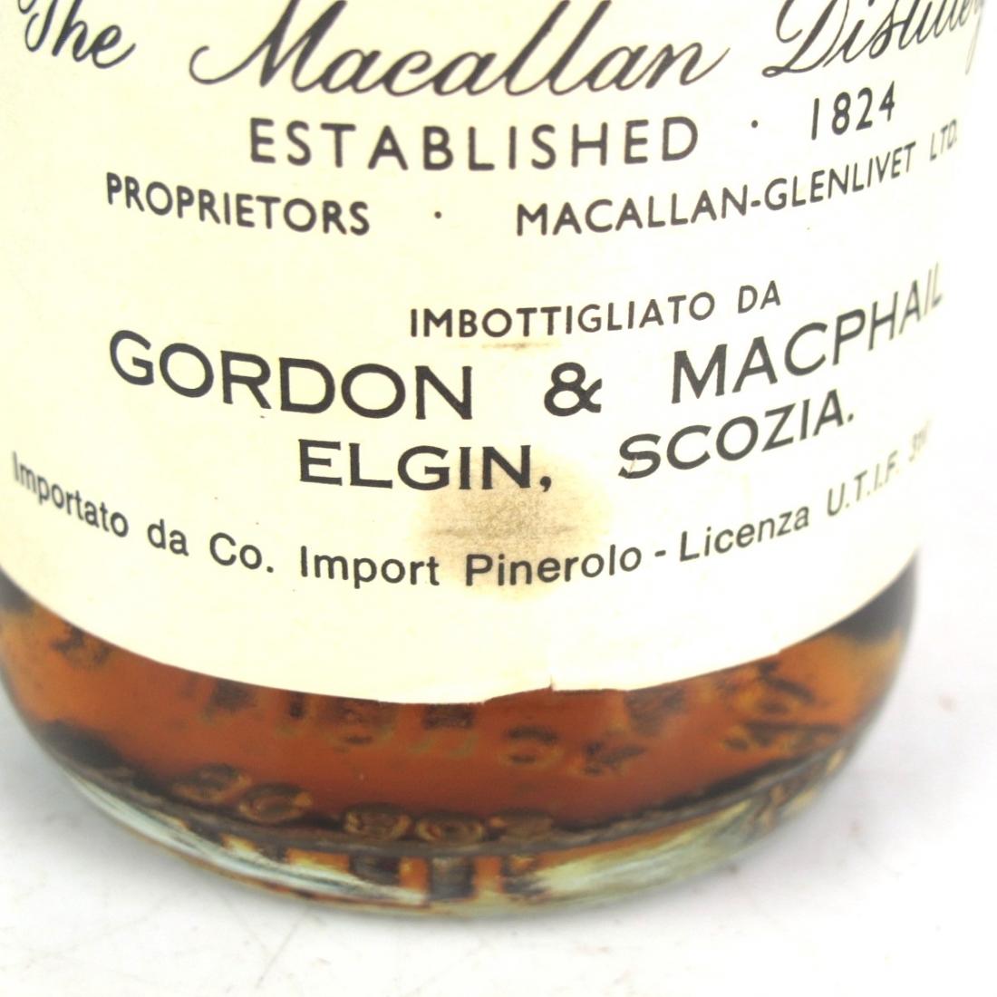 Macallan 1940 Gordon and MacPhail / Pinerolo Import