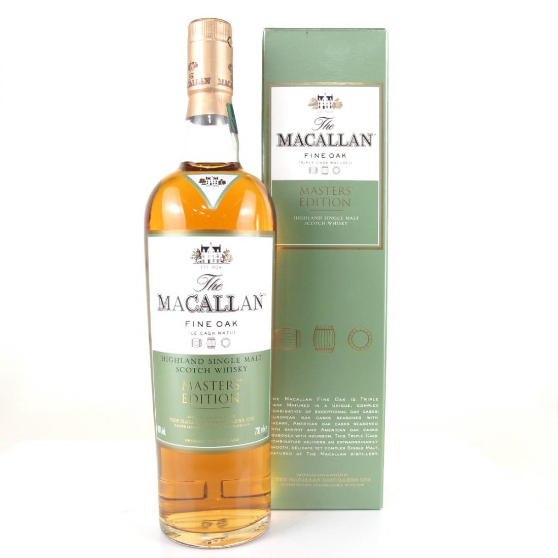 Macallan Fine Oak Masters Edition