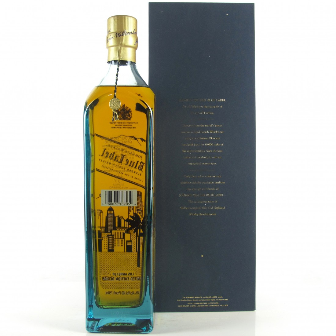 Johnnie Walker Blue Label Los Angeles Limited Edition 75cl / US Import