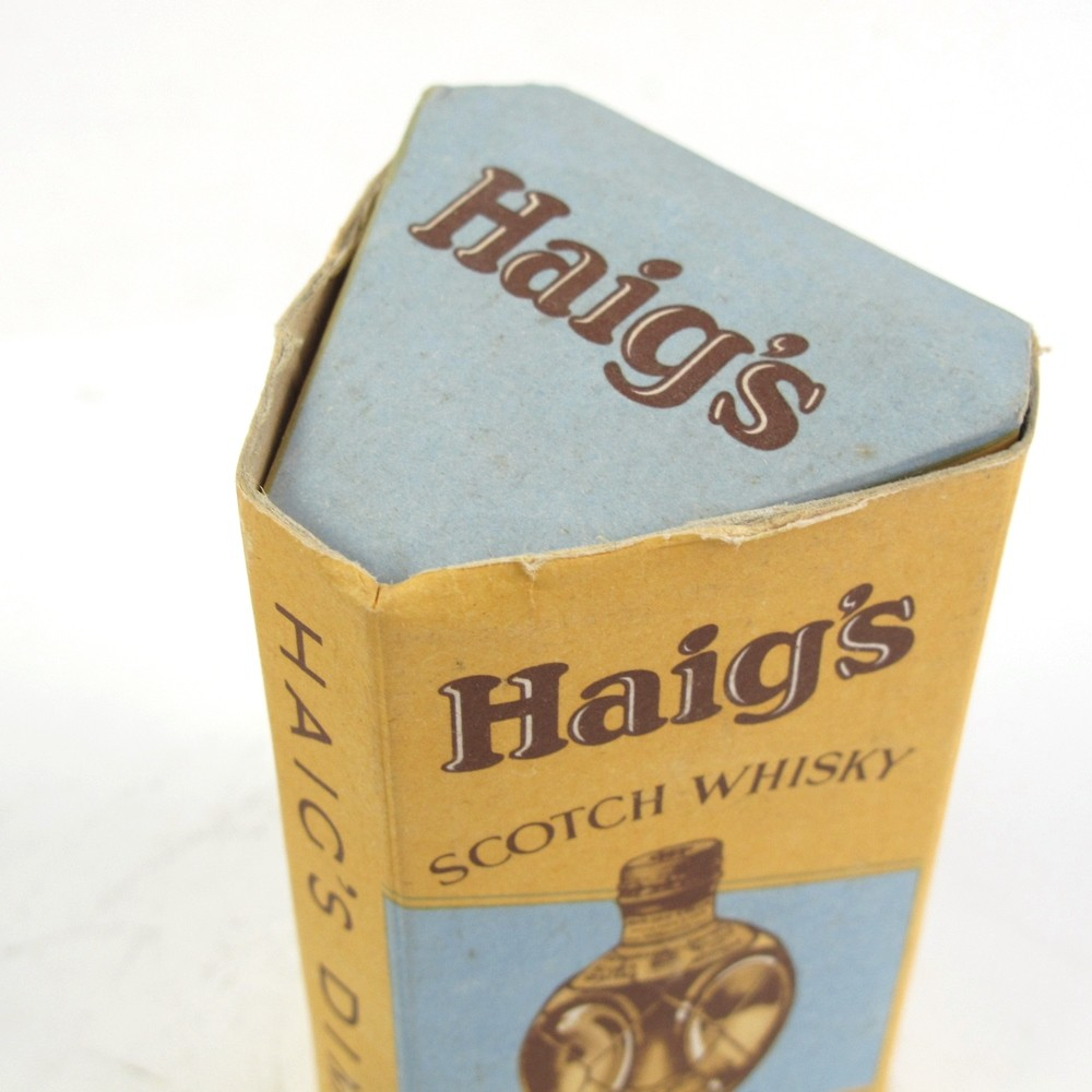 Haig's Dimple Circa 1950/1960 Including Miniature
